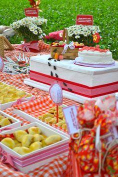 Um pic nic de aniversário. Que tal? #festadecriança #picnic
