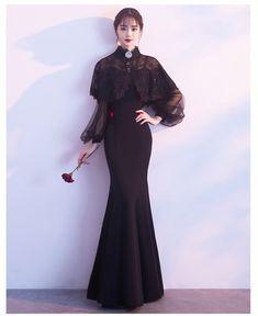 09d98ea04dcdd オフショルダー ドレス黒 イブニングドレス ロングドレス 演奏会 結婚式 パーティードレス 袖あり 大きいサイズ パーティーワンピースの通販はWowma!  - ジョイストア