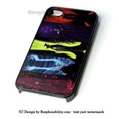 Disney Villains iPhone 4 4S 5 5S 5C 6 6 Plus Case , iPod 4 5 Case , Sa – Resphonebility