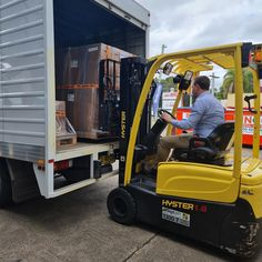 Elkay drinking water stations being loaded for delivery by our CEO, Julian Wilson. We love contributing to happy communities were people love where they live, work and play! Julian Wilson, Drinking Water, Outdoor Power Equipment, Delivery, Community, Play, News, Happy, People