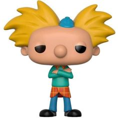 Nickelodeon Hey Arnold Funko POP! TV Arnold Shortman Vinyl Figure... ($6.99) ❤ liked on Polyvore featuring home and home decor
