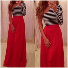 Fashion Chic Womens Sexy One Off Shoulder Long Sleeve High Waist Striped Stretch Bodycon Cocktail Party Prom Gown Tunic Dress