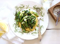 Spring Spirit Polenta | My New Roots