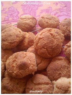 donabimby: Bolachinhas de Coco / coconut cookies