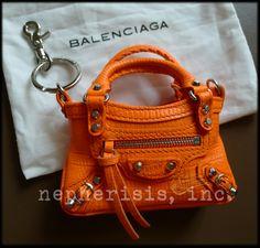 6a610a86c8 Balenciaga mini mini first keychain - want! Mini One, Barbie Miniatures,  Coin Bag