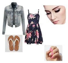 """""""Last day of school"""" by bregordon on Polyvore featuring Ally Fashion, American Eagle Outfitters and LE3NO"""