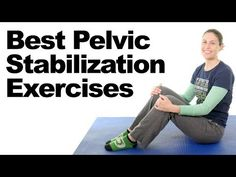 7 Best Pelvic Stabilization Exercises – Ask Doctor Jo These basic pelvic stabilization exercises may help pelvic instability from weakness, a muscle imbalance, or an alignment issue. They may also help with SI joint … source Gym Workout For Beginners, Gym Workout Tips, Hip Workout, Cervical Spine Exercises, Pelvic Floor Exercises, Abdominal Exercises, Inner Thight Workout, Glute Medius, Si Joint Pain