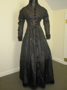 """c1860s Morning Robe or Dress for Study, Restore or Repair 