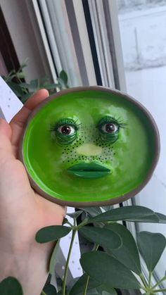 Ceramic Pottery, Pottery Art, Ceramic Art, Polymer Clay Crafts, Diy Clay, Keramik Design, Clay Art Projects, Cute Clay, Paperclay