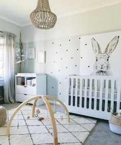 don't be afraid to have a little fun with nursery decorations.