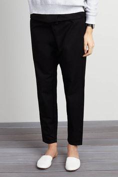 Wrap Pants - Black | Emerson Fry