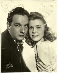 Doris and Bob Crosby …. 1940