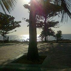 Despierta, #SantoDomingo despierta! #Sea #Caribe #DominicanRepúblic #morning #sun - @esglen- #webstagram