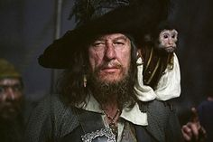 Barbossa - Geoffrey Rush ..Amazing actor