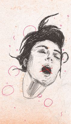 Moan. by Augustus John, via Behance