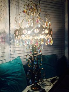 ll wmcloevsky table lamp - Chandelier Table Lamp