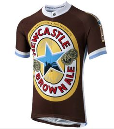 Newcastle Brown Ale Road Cycling Jersey  Newky Brown has got be a winner   and so is this latest jersey to our portfolio. A perfect addition to our  growing ... 69d48db87