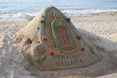 Sand Sculptures, Puerto Vallarta