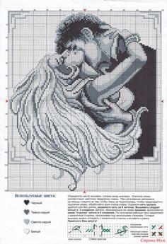 Wedding Cross Stitch Patterns, Counted Cross Stitch Patterns, Cross Stitch Designs, Cross Stitch Books, Cross Stitch Love, Blackwork Cross Stitch, Cross Stitching, Cross Stitch Silhouette, Perler Bead Art