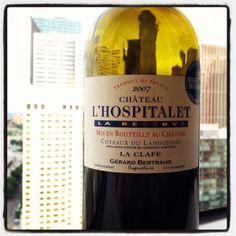 2007 Chateau l'Hospitalet, La Reserve, La Clape, Languedoc – $19    This wine is a blend of 40% Syrah, 30% Grenache, and 30% Mourvedre which was aged for 12 months in French oak barrels.  (My review: delicious!)