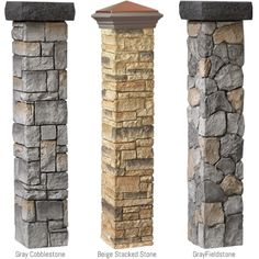 Cast stone #postcovers from #DeckoRail take posts from boring to beautiful.