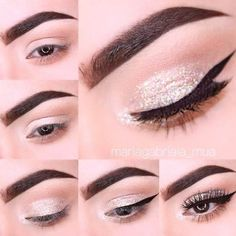 Gorgeous Makeup: Tips and Tricks With Eye Makeup and Eyeshadow – Makeup Design Ideas Eye Makeup Steps, Natural Eye Makeup, Makeup For Brown Eyes, Smokey Eye Makeup, Makeup Tips, Makeup Ideas, Prom Makeup Tutorial, Makeup Tutorial Step By Step, Makeup Tutorials