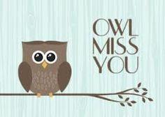 Dashing image within owl miss you printable