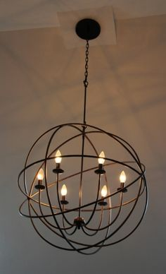 Crystorama Lighting 9228-EB Solaris Chandelier on The Greenspring Home blog