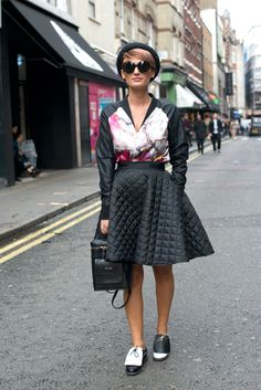The 93 Best Street Style Pics From London Fashion Week  - Cosmopolitan.com