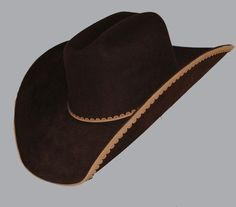My French Tan hat will have this 1/2 daisy chain scalloped edge on it in the French tan for a shade on shade accent. Can't wait.