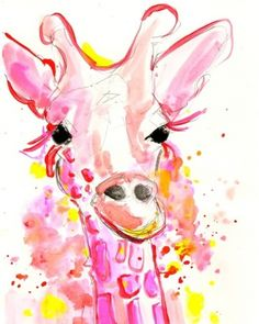 Google Image Result for http://cdn.dailypainters.com/paintings/other_animals_animals_neon_giraffe_8_5_x_11_buy_this_painting__3f900f46ae9784b89a8b087b8bf28e70.jpg