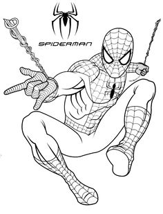 Looking for a Coloriage A Imprimer Spiderman. We have Coloriage A Imprimer Spiderman and the other about Coloriage Imprimer it free. Free Kids Coloring Pages, Cartoon Coloring Pages, Coloring Pages To Print, Coloring Book Pages, Printable Coloring Pages, Coloring Pages For Kids, Free Coloring, Avengers Coloring Pages, Superhero Coloring Pages