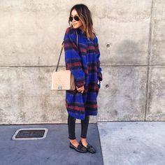 Loved yesterday's oversized coat ❤️