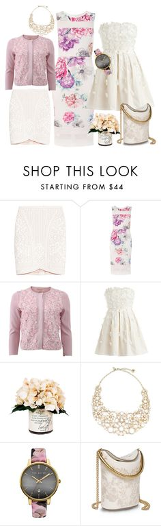 pink flo by dodo85 on Polyvore featuring Dorothy Perkins, Giambattista Valli, Hervé Léger, STELLA McCARTNEY, Kate Spade, Ted Baker and Creative Displays
