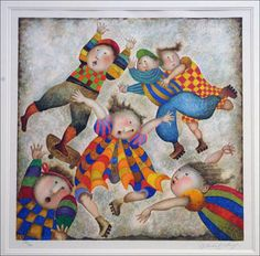 artwork by boulanger | Jour de Vacances by Graciela Rodo Boulanger, Limited Edition Print ...