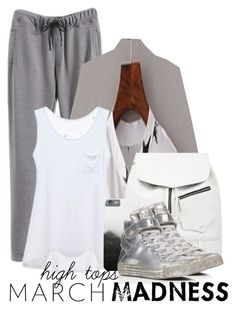 """""""high tops _ beautiful halo"""" by by-jwp ❤ liked on Polyvore featuring Skinnydip, Converse, contest, hightops, contestentry and beautifulhalo"""