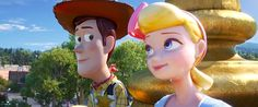 In Toy Story 4 Woody and Bo Peep never kiss. This makes Toy Story 4 the worst of the series as Pixar have ONCE AGAIN failed to quell my sexual fantasies between the two Disney Pixar, Film Disney, Disney Animation, Disney Movies, Toy Story 3, Bo Peep Toy Story, Story Arc, Michael Keaton, Walt Disney Pictures