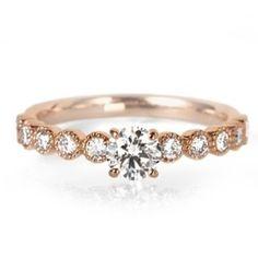【オートクチュール作品】自分だけのクラシックエンゲージ(婚約指輪) ID351 | LUCIE(ルシエ) | マイナビウエディング