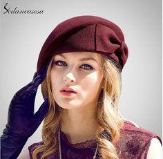 8f9e0470f1233 Sedancasesa British Style Wool Felt Hat