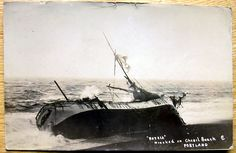 Real photo PC Wreck Barque Patria oct 1903 Chesil Beach Portland Dorest B3 Portland Dorset, Worlds Largest, Forts, Ww2, Beach, Movie Posters, Film Poster, Seaside, Castles