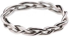 "3 crossing wedding bands. Ecc. 4:12 states ""a cord of 3 strands is not quickly broken"" God, Husband and wife! I love this concept! @ Wedding Day Pins : You're #1 Source for Wedding Pins!Wedding Day Pins : You're #1 Source for Wedding Pins!"