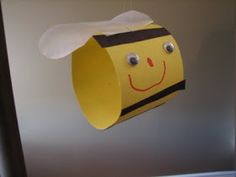 Ramblings of a Crazy Woman: Pre School Bumble Bee Craft