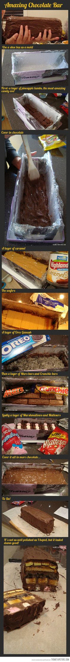 How to make an extraordinary chocolate bar