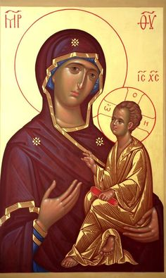 Byzantine Icons, Byzantine Art, Blessed Mother Mary, Blessed Virgin Mary, Religious Icons, Religious Art, Madonna And Child, Orthodox Icons, Christian Art