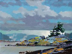 Robert Genn, 'From Curme Islet, Desolation Sound'