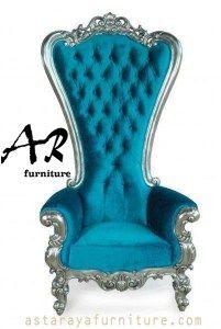 Cp Takhta Ratu Throne Chair Gold Leaf Frame With Royal