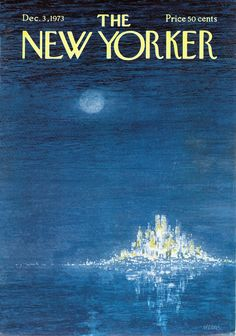 The New Yorker - December 3, 1973 Cover By Robert Weber