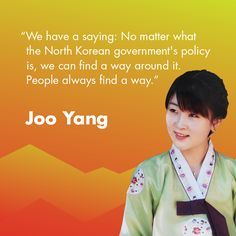 Joo Yang is part of the generation that's helping to shape a new North Korea.