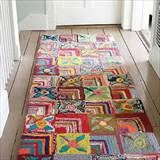 Gypsy Rose Cotton Rug..nice for Boho interior | Flooring and Rugs