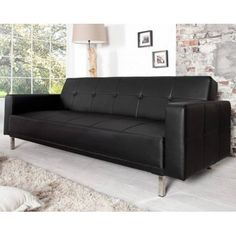Sofa MANHATTAN czarna